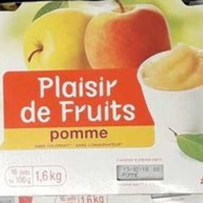 Dessert de fruits - pomme (Auchan)