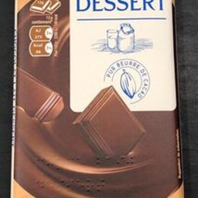 Chocolat lait dessert (Auchan)