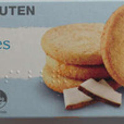 Biscuits sablés coco (Auchan)