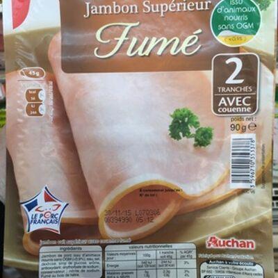 Jambon supérieur fumé (Auchan)