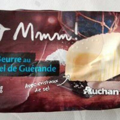 Beurre au sel de guérande (Auchan)