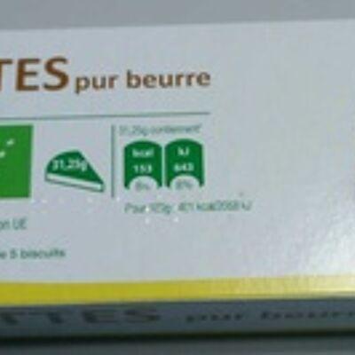 Galettes pur beurre (Auchan bio)