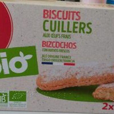 Biscuits cuillers bio (Auchan)