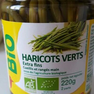 Haricots verts extra fins (Auchan)