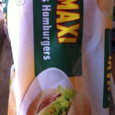 4 maxi pains hamburger (Auchan)