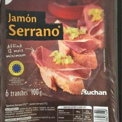 Jambon serrano (Mmm !)