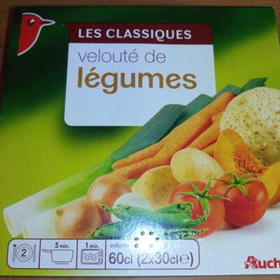 Velouté de 10 légumes 2x30cl (Auchan)