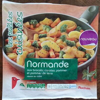 Poêlée normande (Auchan)