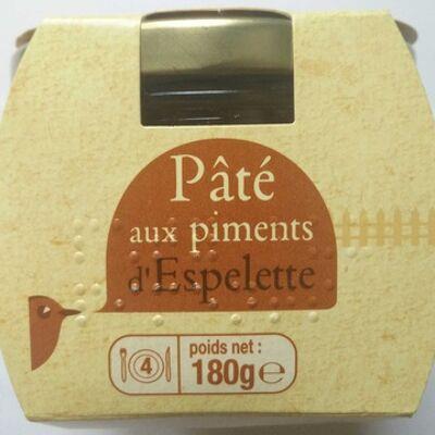 Pâté aux piments d'espelette (Auchan)