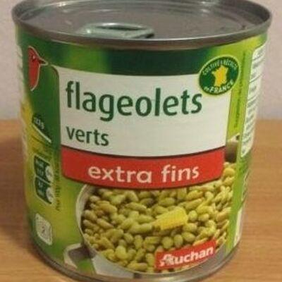 Flageolets verts extra fins (Auchan)