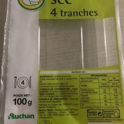 Jambon sec (Auchan)