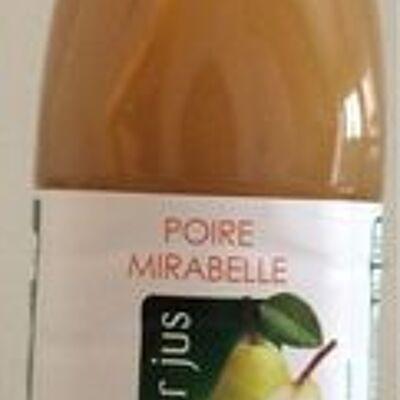 Poire mirabelle pur jus (Auchan)