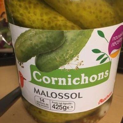 Cornichons malossol (Auchan)