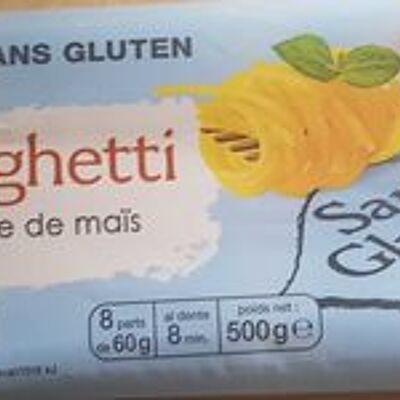 Spaghetti à la farine de maïs et de riz (Auchan)