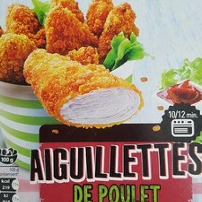 Aiguillettes de poulet (Auchan)