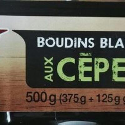 Boudins blancs aux cèpes (Auchan)