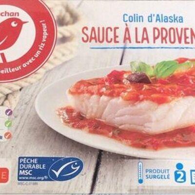 Poisson sauce a la provencale (Auchan)