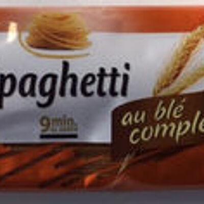 Spaghetti au blé complet (Auchan)