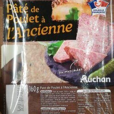 Pâté de poulet à l'ancienne (Auchan)