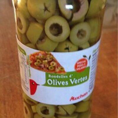 Olives vertes (Auchan)