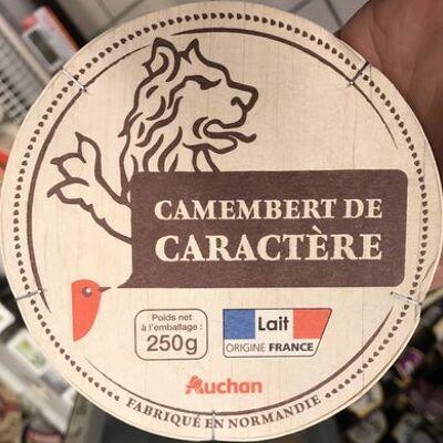 Camembert de caractère (Auchan)