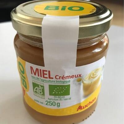 Miel cremeux (Auchan)