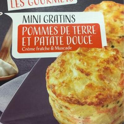 Mini gratins pomme de terre patate douce (Auchan)