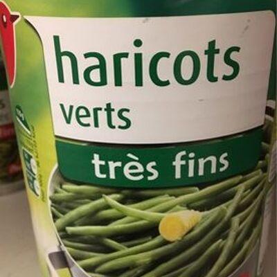 Haricot verts tres fin (Auchan)
