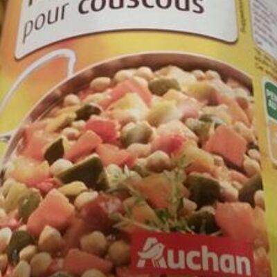 Légumes pour couscous (Auchan)