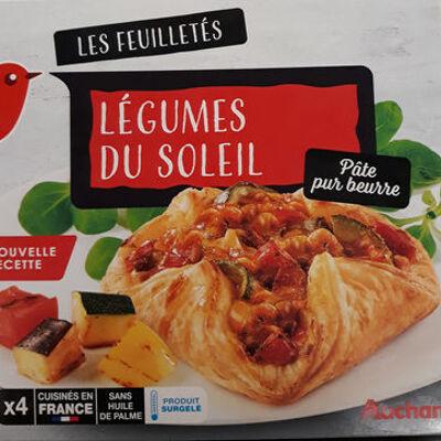 Feuilletés legumes du soleil (Auchan)