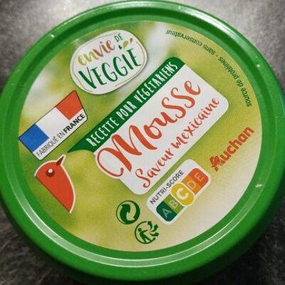 Mousse saveur mexicaine (Envie de veggie)