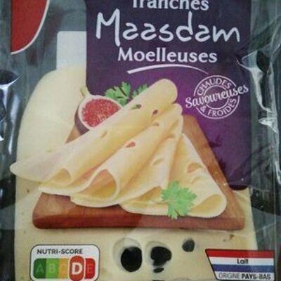 Tranches maasdam moelleuses (Auchan)