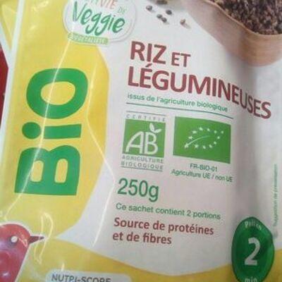 Riz et légumineuses (Auchan bio)