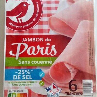 Jambon de paris (Auchan)