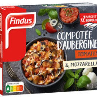 Compotée d'aubergines, tomates et mozzarella fondante (Findus)