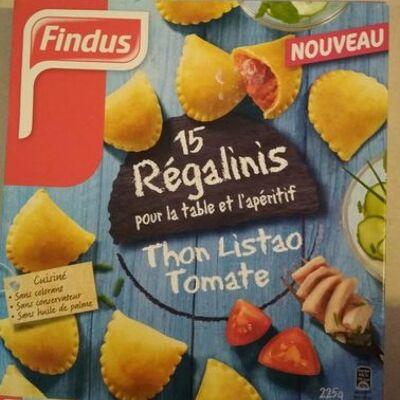 Régalinis thon listao et tomate (Findus)