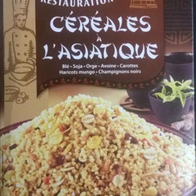 Céréales à l'asiatique (Tipiak restauration)