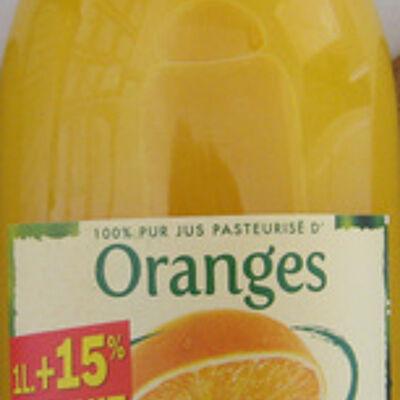 Jus pasteurisé d'oranges pressées (Andros)