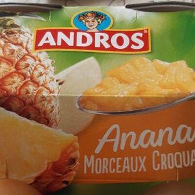 Ananas morceaux fondants (Andros)