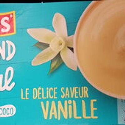 Gourmand & végétal délice vanille (Andros)