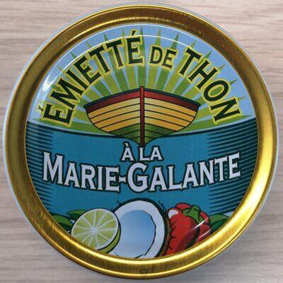 Emietté de thon à la marie-galante (noix de coco, citron vert) (La belle iloise)