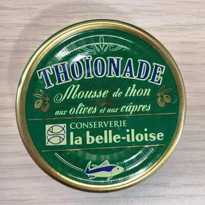 Thoïonade aux olives et aux câpres (La belle-iloise)