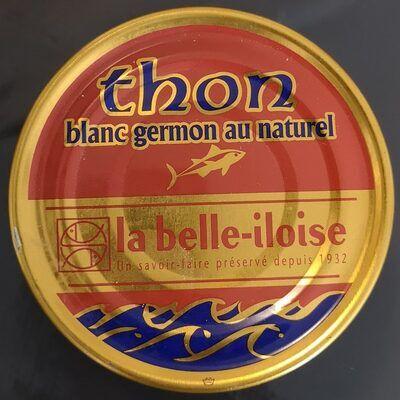 Thon blanc germon au naturel (La belle-iloise)
