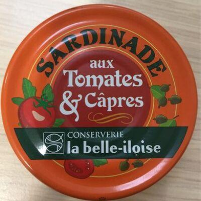 Sardinade aux tomates & câpres (La belle iloise)
