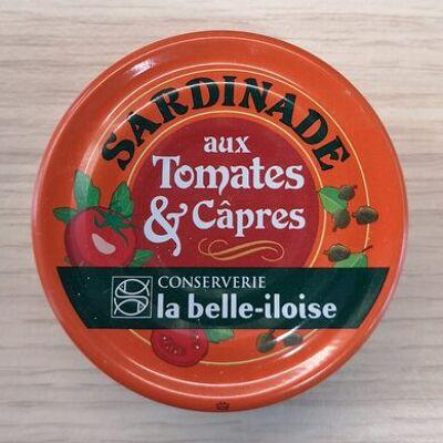Sardinade aux tomates et câpres (La belle-iloise)