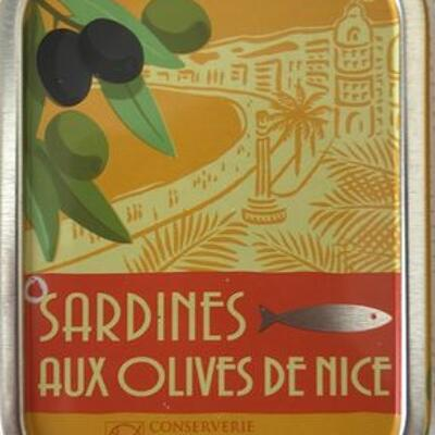 Sardine aux olives (La belle-iloise)