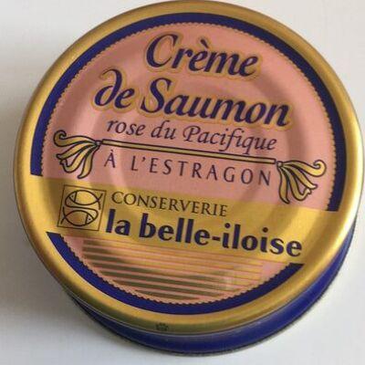 Crème de saumon rose du pacifique à l'estragon (La belle-iloise)
