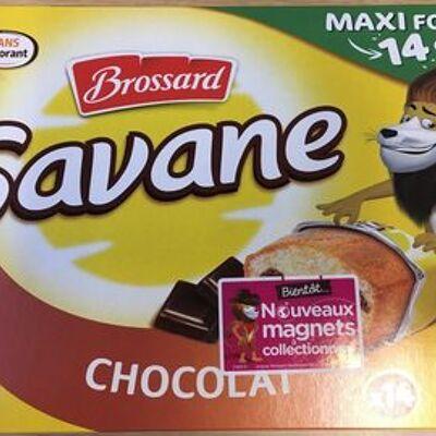 Savane chocolat x14 (Brossard)