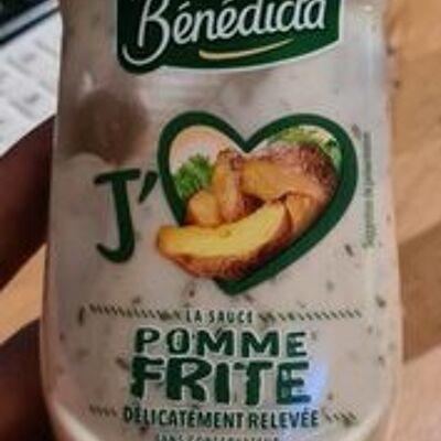 Sauce pomme frite (Bénédicta)