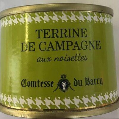 Terrine de campagne aux noisettes (Comtesse du barry)